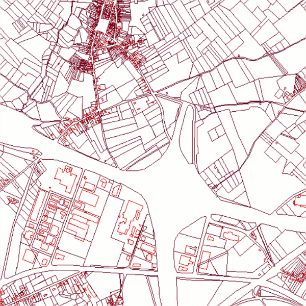 Plan Parcellaire Cadastral Situation Au 01 01 2015 Cadmap 2015